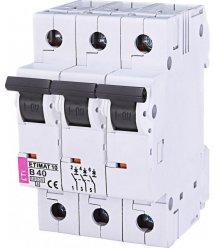 Авт. вимикач ETI ETIMAT 10 3p B 40А (10 kA)