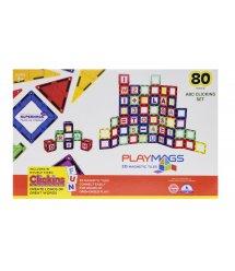 Конструктор Playmags магнітний набір 80 ел. PM170
