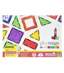 Конструктор Playmags магнітний набір 60 ел. PM158
