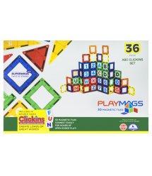 Конструктор Playmags магнітний набір 36 ел. PM168
