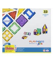 Конструктор Playmags магнітний набір 32 ел. PM165