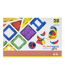 Конструктор Playmags магнітний набір 28 ел. PM164