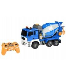 Машинка на р/к Same Toy Бетонозмішувач синій E518-003
