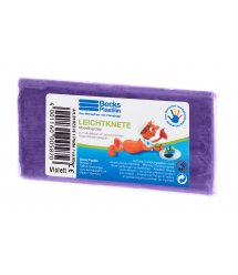 Becks Plastilin Пластилин плавающий 65г. Фиолетовый