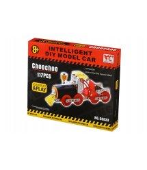 Конструктор металевий Same Toy Inteligent DIY Model Car Паравоз 117 ел. 58033Ut