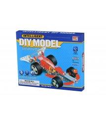 Конструктор металлический Same Toy Inteligent DIY Model Болид 186 эл. WC38DUt