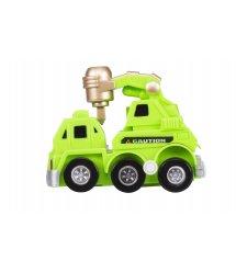 Заводна машинка goki зелена 13219G-1