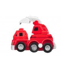 Заводна машинка goki червона 13219G-3