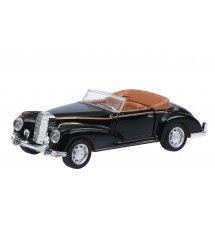 Автомобіль 1:36 Same Toy Vintage Car чорний відкритий кабріолет 601-4Ut-4