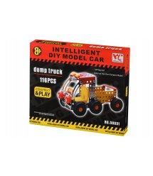 Конструктор металевий Same Toy Inteligent DIY Model Car Самоскид 116 ел. 58031Ut