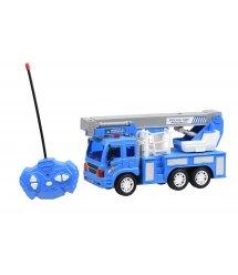 Машинка на р/у Same Toy CITY Кран синий F1630Ut