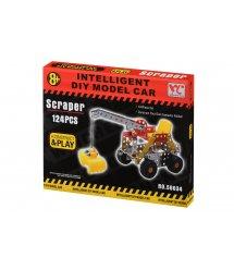 Конструктор металлический Same Toy Inteligent DIY Model Car Скрепер 124 эл. 58034Ut
