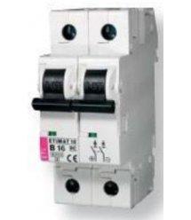 Автоматичний вимикач ETI ETIMAT 10 DC 2p C 50A (6 kA)
