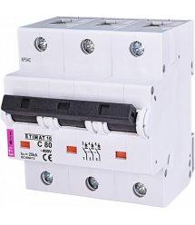 Авт. вимикач ETI ETIMAT 10 3p C 80А (20 kA)