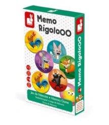 Настольная игра мемо Janod Риголо J02736