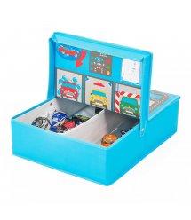 """Pop-it-Up Коробка для хранения игрушек """"Гараж"""" 40x50x14см"""