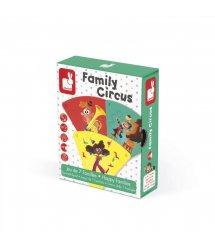 Настольная игра Janod Happy Families Цирк J02755