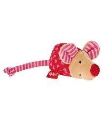 Мягкая игрушка Sigikid Мышка розовая 8 см 49136SK