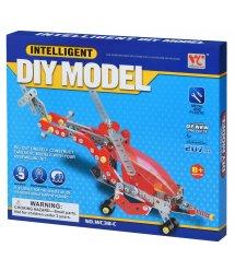 Конструктор металлический Same Toy Inteligent DIY Model Самолет 207 эл. WC38CUt