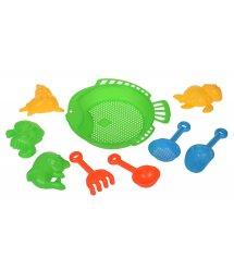 Набор для игры с песком Same Toy 9 ед зеленый B002-2Ut-1