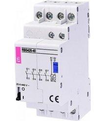 Контактор імпульсний ETI RBS 425-40 230V AC 25A (4НВ, AC1)