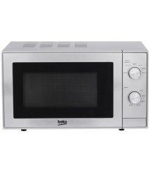 Микроволновая печь соло Beko MOC20100S - 20л./700Вт/механика/серебро