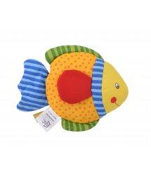 Погремушка goki Рыбка с синим хвостом 65099G-1