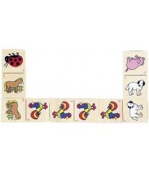 Настольная игра goki Домино с животными WG090G