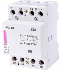 ETI R 63-04 230V AC 63A (AC1)