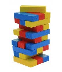 Настольная игра goki Дженга Разноцветная башня HS973