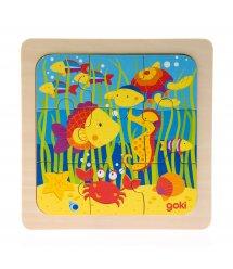 Пазл деревянный goki Море 57499-4