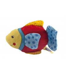 Погремушка goki Рыбка с голубым хвостом 65099G-3