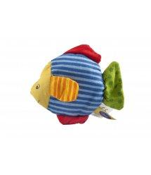 Погремушка goki Рыбка с зеленым хвостом 65099G-4