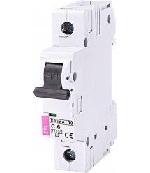 Автоматичний вимикач ETI, ETIMAT 10 1p C 6А (10 kA)