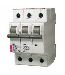 Автоматичний вимикач ETI, ETIMAT 10 3p C 50А (6 kA)