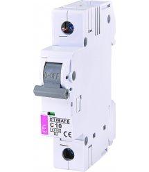 Автоматичний вимикач ETI, ETIMAT 6 1p С 10А (6 kA)