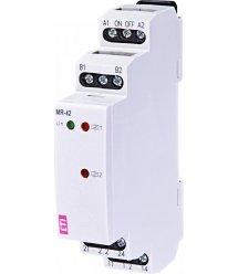 """Імпульсне реле з функцією """"пам'ять"""" ETI MR-42 UNI 12-240V AC/DC (2x16A_AC1)"""