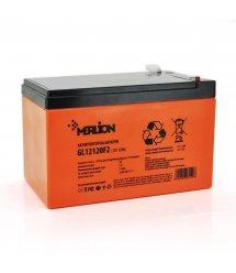 Аккумуляторная батарея MERLION GL12120F2 12 V 12 Ah ( 150 x 98 x 95 (100) ) 3,3 кг Q6