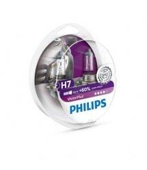 Лампа галогенна Philips H7 VisionPlus, 2шт/блістер