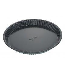 Форма для випікання Ardesto Tasty baking 30*3 см кругла, сірий,голубий, вуглецева сталь