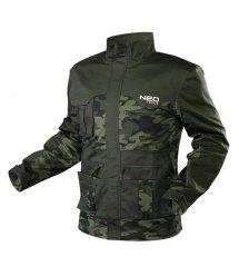Робоча куртка Neo CAMO, розмір XXL/58, щільність 255 г/м6