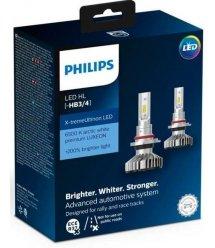 Лампа світлодіодна Philips HB3/HB4 X-treme Ultinon Led +200%, 2 шт/комплект