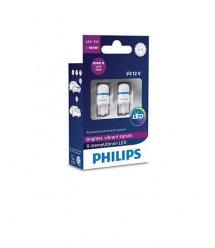 Лампа автомобільна світлодіодна Philips W5W X-tremeUltinon LED, 8000K, 2шт/блистер