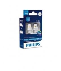 Лампа автомобільна світлодіодна Philips W5W X-tremeUltinon LED, 4000K, 2шт/блістер