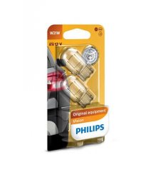 Лампа розжарювання Philips W21W Vision, 2шт/блістер