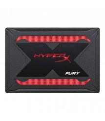 """Твердотільний накопичувач SSD 2.5"""" HyperX Fury RGB 480GB Bundle SATA 3D TLC"""