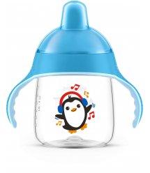 Чашка-непроливайка Avent з твердим носиком блакитна 260 мл 12+ 1 шт. SCF753/05