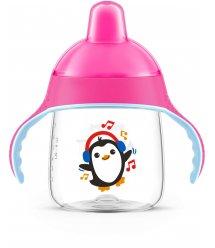 Чашка-непроливайка Avent з твердим носиком рожева 260 мл 12+ 1 шт. SCF753/07