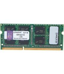 Пам'ять до ноутбука Kingston DDR3 1600 8GB SO-DIMM 1.35V