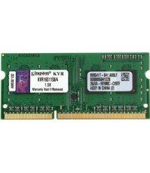 Пам'ять до ноутбука Kingston DDR3 1600 4GB SO-DIMM 1.5V